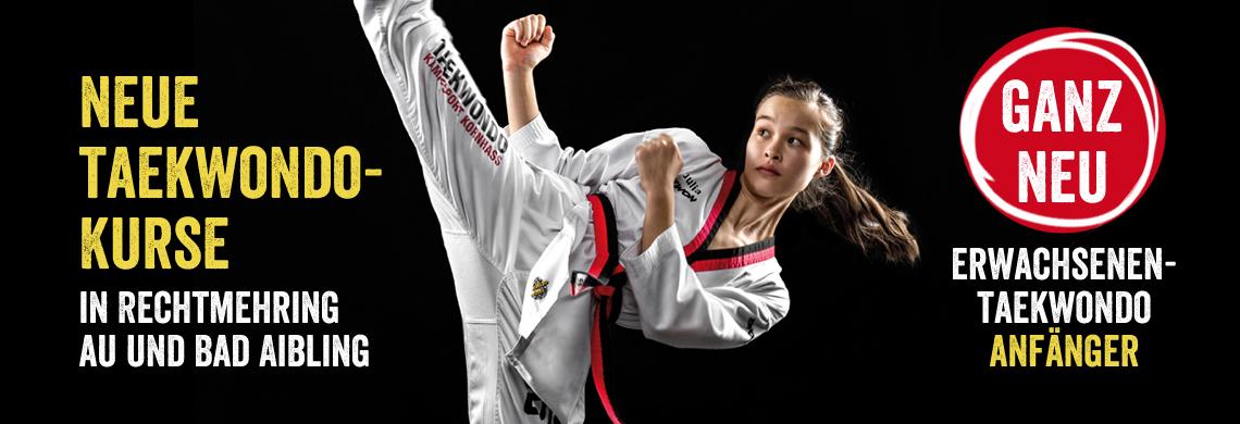 NEUE Kurse Taekwondo